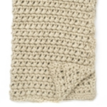 Free Pattern! 'Easy Going' Crocheted Blanket in Bernat Mega Bulky