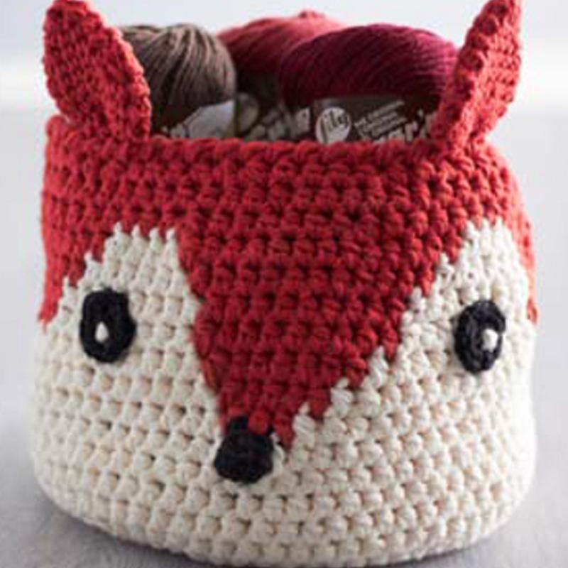 Sugar n Cream Foxy Stash Basket