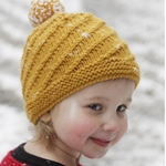 Free Pattern! Swirl n Twirl Hat knitted in Drops Alaska
