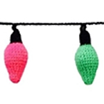 Free Pattern! Crocheted Fairy Lights in Cygnet DK