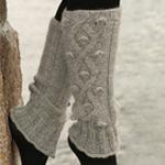 Knitted Leg Warmers in DROPS Alpaca