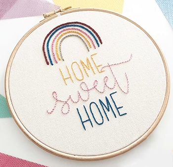 'Home Sweet Home' Embroidery Chart by Anchor