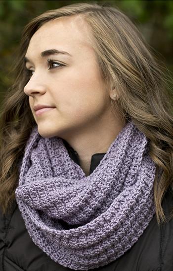 Free Pattern! 'Sage Bloom' Scarf crocheted in Cascade 220 Superwash