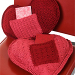 I Love You Pillow in Caron Simply Soft