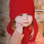 Children's Knitted Hat and Scarf by Patons