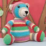 Bruno the Bear in Rico Creative Cotton Aran
