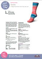 Regia Socks - pattern image