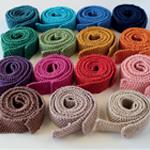 Knitted Tie in Sirdar Cotton DK