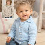Knitted Children's Cardigan in Sirdar Snuggly DK