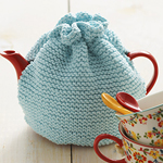 Knitted Tea Cosy in Lily's Sugar 'n Cream