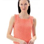 Lily Sugar n Cream Crochet Summer Top - thumbnail