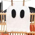Crocheted Halloween Dishcloths in Lily Sugar 'n Cream