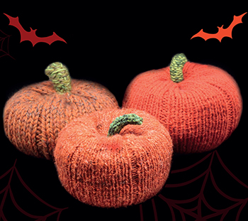 Orange and Green Baby Wool Pumpkin Pants Chunky