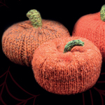 Free Pattern! Knitted Pumpkin