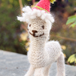 Free Pattern! Ronald the Alpaca in DROPS Air