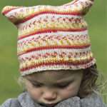 Free Pattern! Knitted Children's Hat in Cascade Heritage Prints