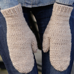 Free Pattern! Crocheted Mittens by DROPS