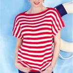 Caron Simply Soft Women's Boatneck Top - thumbnail