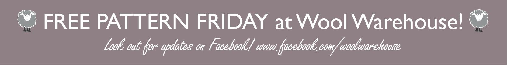 Free Pattern Friday web banner